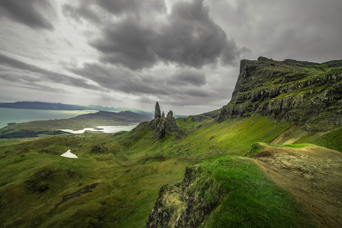 old man of storr1 (Isle of Skye / Schottland - Scotland) l&n201