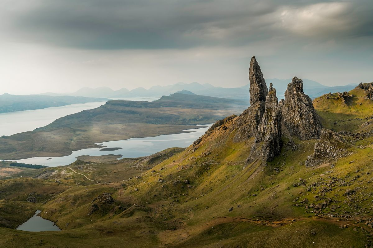 old man of storr2 (Isle of Skye / Schottland - Scotland) l&n202