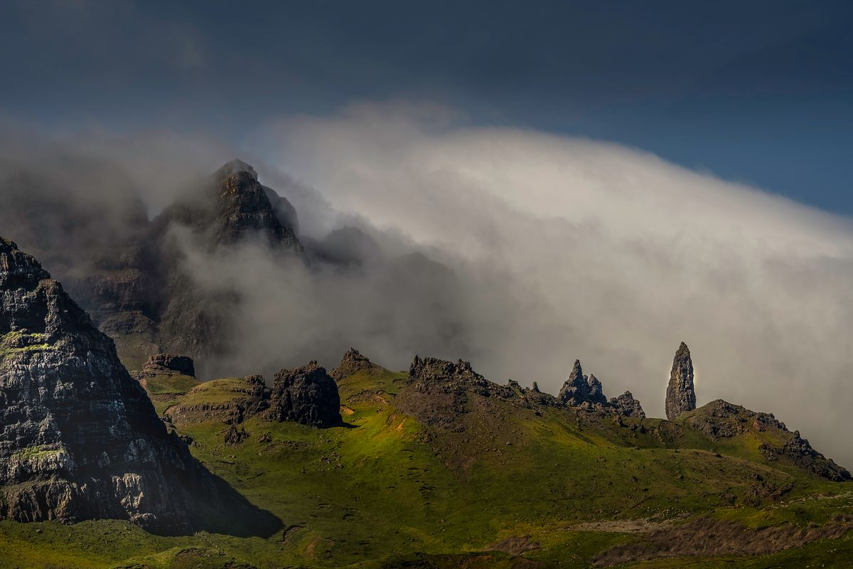 old man of storr3 (Isle of Skye / Schottland - Scotland) l&n203