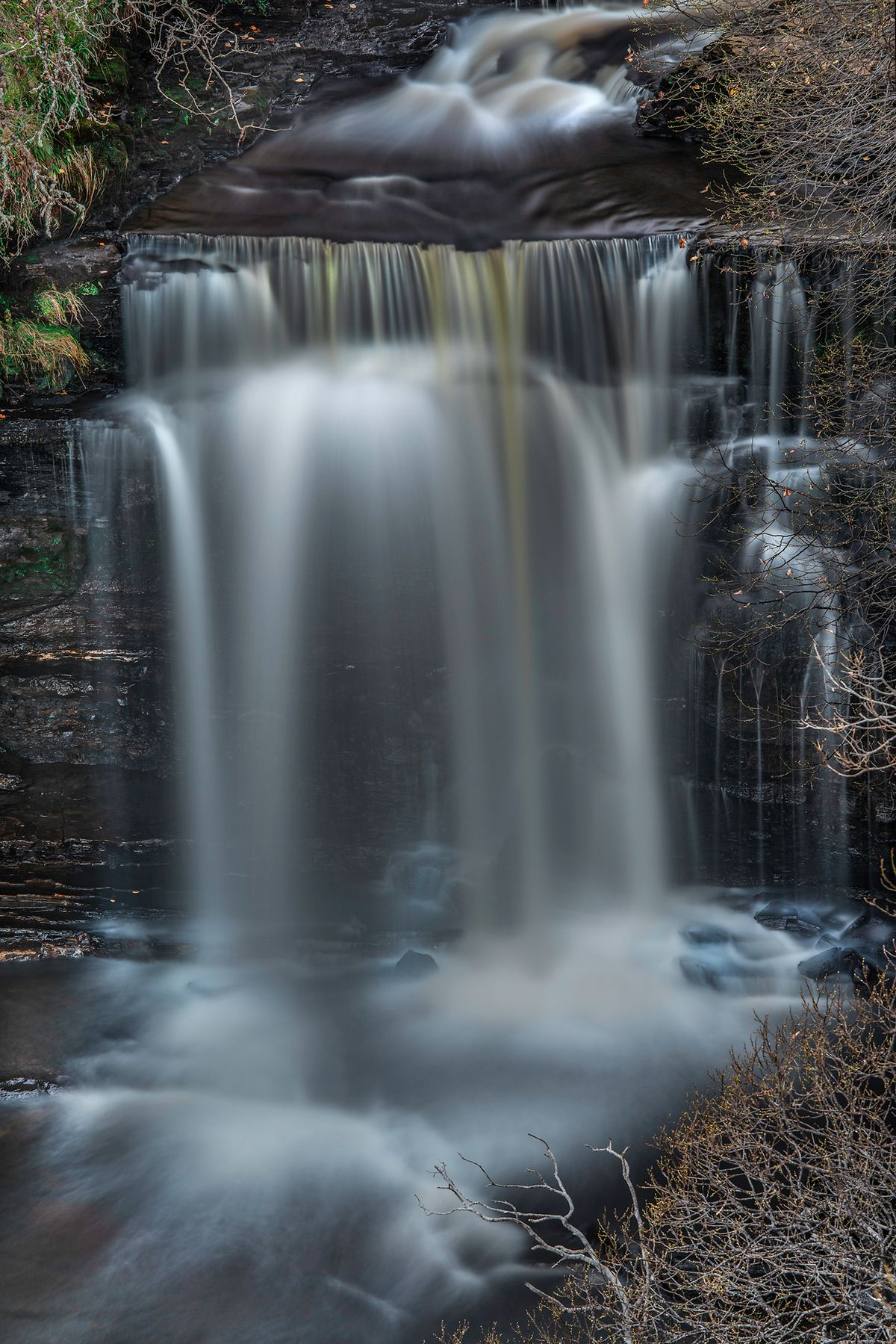 Wasserfall / water fall (Isle of Skye / Schottland - Scotland) l&n291